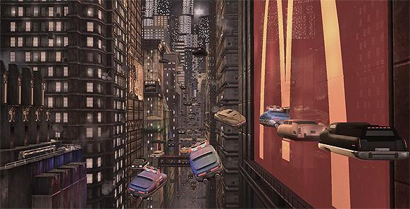 Filmmiljöer återskapade med grafikmotorer från spel