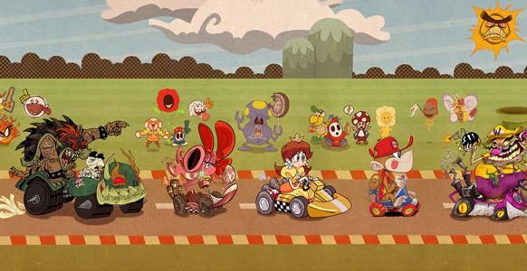 Mario Kart lockar till samarbete