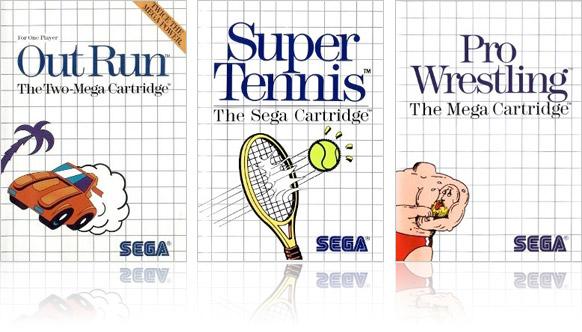 Sega valde plast och rutnät